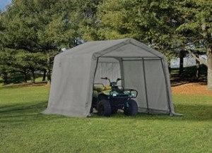 E series motorcycle shed 10x10x8
