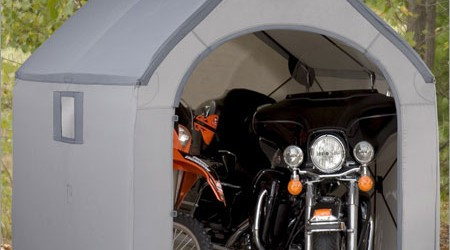 ShelterLogic 6x6x6.5 E-Series Motorcycle Shed Review