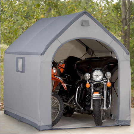 ShelterLogic 6x6x65 E Series Motorcycle Shed Review
