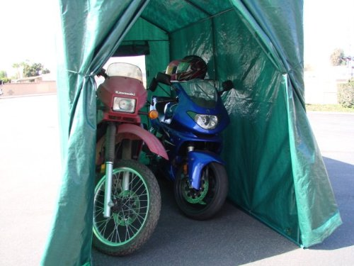 Portable Motorcycle Shelter : Reviews motorcycle sheds