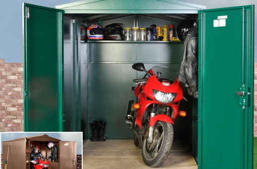 How To Pick The Best Motorcycle Shed For You