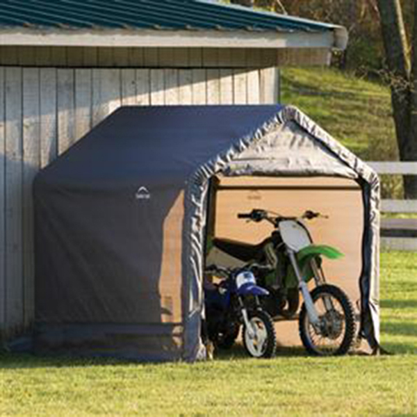 Motorcycle Carport Storage : Why it s crucial to have a motorcycle shed sheds