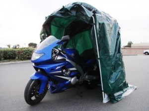 Large Portable Motorcycle Shelter