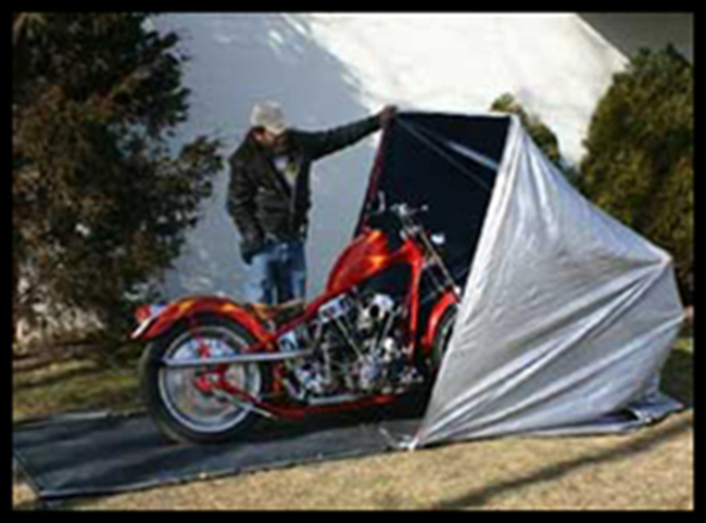 Portable Motorcycle Shelter : Choosing whether to go with a portable or permanent